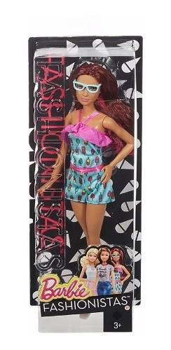 Boneca Barbie Fashionista 17 Ice Cream Romper Sorvete Top