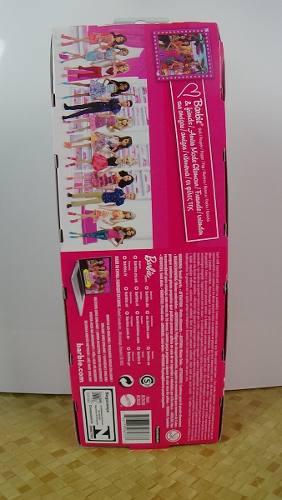 Boneca Barbie Loira Vestido Rosa Linda Original Promoção