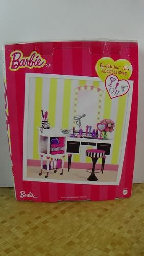 Boneca Barbie Rosa Loira Pentear O Cabelo E Mechas Top