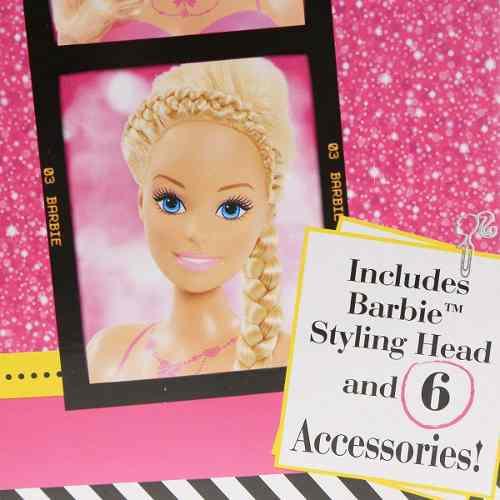 Cabeça Da Boneca Barbie Loira Para Pentear O Cabelo Top