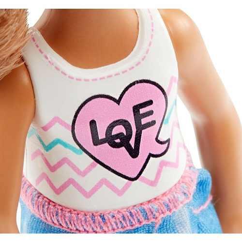 Boneca Filha Barbie Clube Chelsea Criança Morena Top 2019