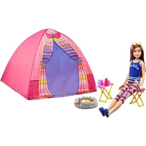 Barraca De Camping E Boneca Barbie Dreamhouse Skipper 2019