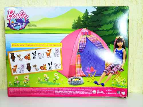 Barraca De Camping E Boneca Barbie Dreamhouse Skipper 2019