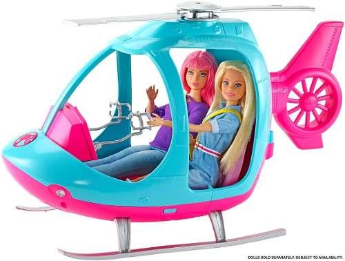 Helicóptero Barbie Dreamhouse Adventures Viagem Travel 2019