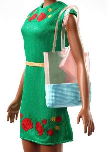 Boneca Barbie Dreamhouse Adventures Negra Nikki Viagem 2019