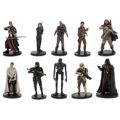 10 Bonecos Action Figure Star Wars Rogue One Deluxe Eua
