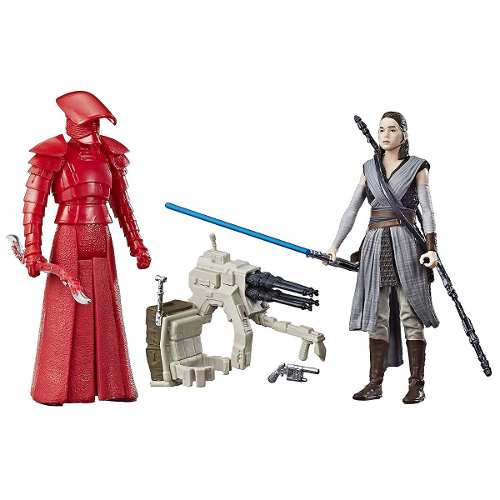 Boneco Star Wars: The Last Jedi Rey E Elite Praetorian Guard