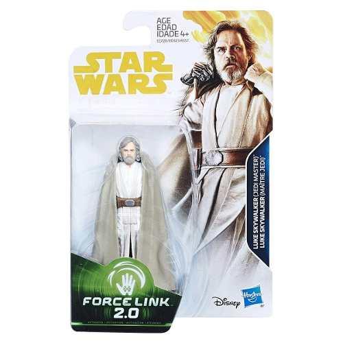 Boneco Star Wars Force Link 2.0 Luke Skywalker (jedi Master)