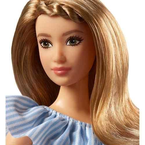 Boneca Barbie Fashionista 76 Curvy Gordinha Vestido Top