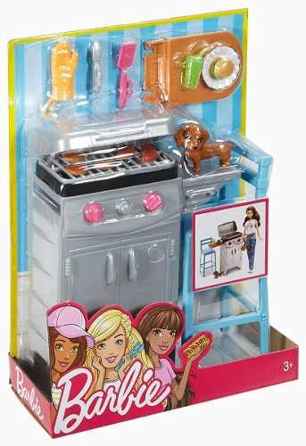 Churrasqueira Casa Da Barbie Outdoor Churrasco Dreamhouse