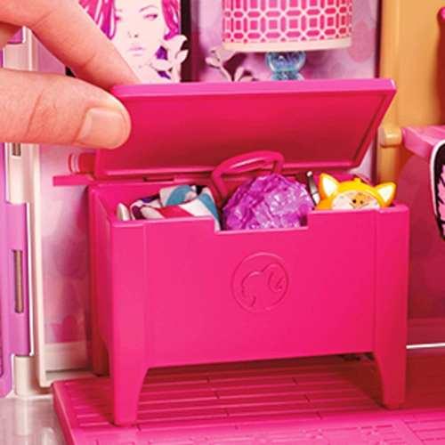 Casa Da Barbie Charmosa Que Vira Maleta | Mattel Oficial