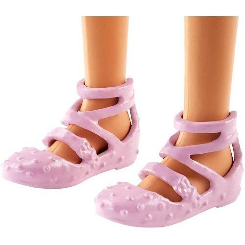 Boneca Barbie Fashionista 74 Vestido Preto Estrela Top