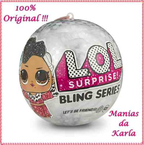 Boneca Lol Suprise Original Usa Bling Series Supresas Top