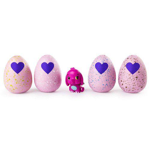 Hatchimals Colleggtibles 4 Ovos + Bônus Surpresas Top