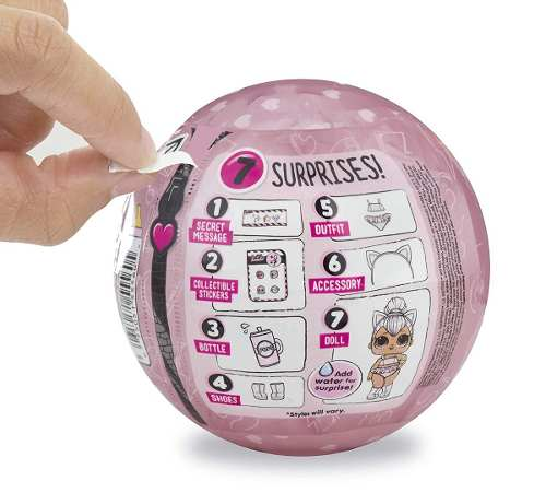 Boneca Lol Surprise Glam Gliter 7 Surpresas 100% Original