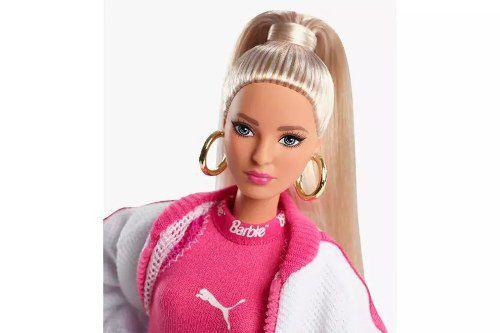 Boneca Barbie Collector Puma Loira Top Lançamento 2019