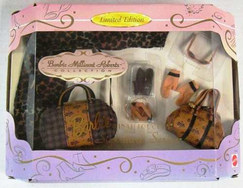 Bolsa Barbie Super Luxo Rara Collector Signature Mattel Top