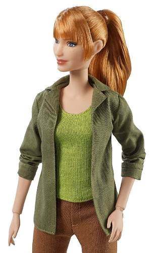 Boneca Barbie Filme Jurassic Park Collector Claire Top