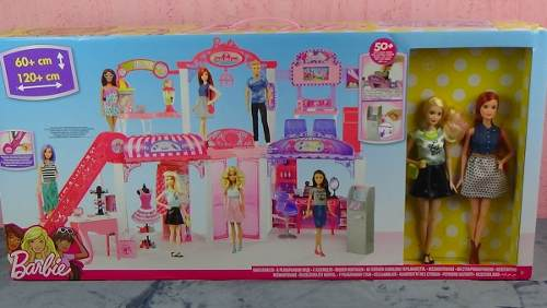 Shopping Barbie Malibu Ave Com 2 Barbie's Raro Top Eua