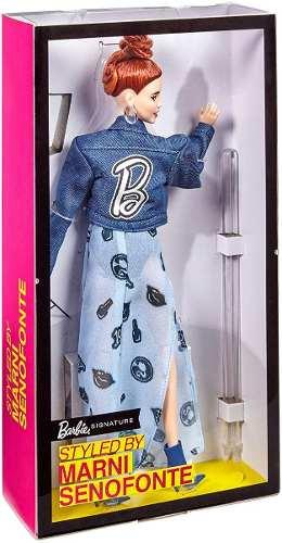 Boneca Barbie Collector Signature Marni Senofonte Articulada