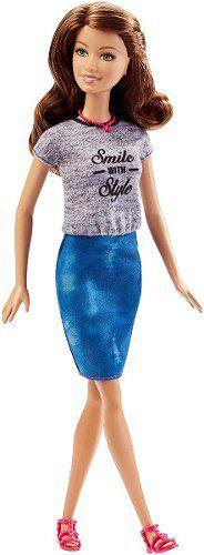 Boneca Barbie Fashionista 15 Teresa Smile Style Top 2019