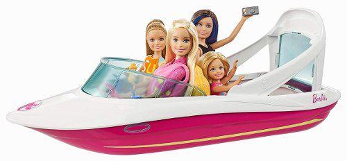 Lancha Barco Boneca Barbie Dolphin Magia Marinha Lindo 2019
