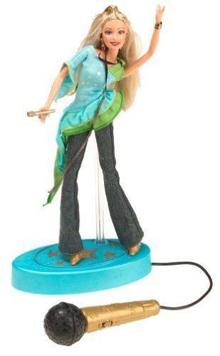 Boneca Barbie American Idol 2004 Com Karaokê Microfone Real