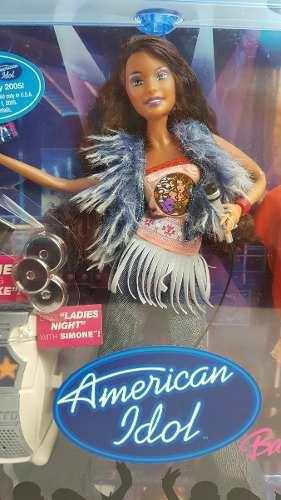 Boneca Barbie American Idol 2004 Simone Com Karaokê Rara Top