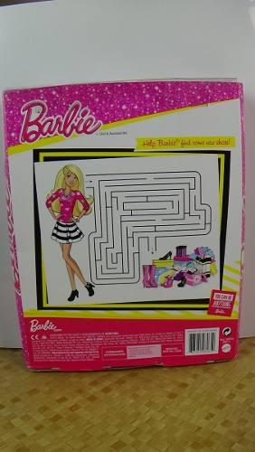 Boneca Barbie Dreamhouse Morena Sapatos E Bolsa Top