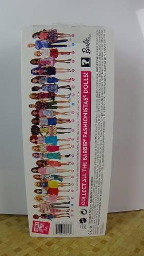 Boneca Barbie Fashionista 29 Ruiva Alta Saia Top
