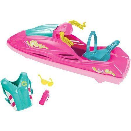 Jet Ski Boneca Barbie Praia Piscina Radical Top 2019