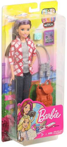 Boneca Barbie Skipper Dreamhouse Adventures Viajante 2019