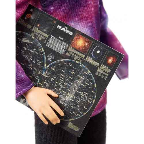 Boneca Barbie Profissões Astrofísica Telescópio 2019 Top