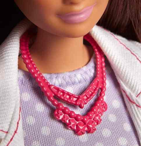 Boneca Barbie Profissões Cientista Top 2019 Mattel