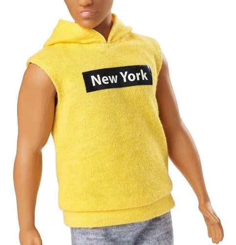 Boneco Ken Barbie Fashionista 131 New York Lançamento 2019