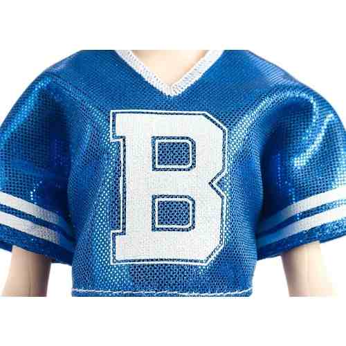 Boneca Barbie Fashionista 91 Albina Varsity Plaiditude 2019