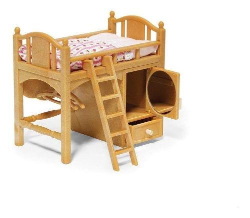 Sylvanian Families Loft Bed Cama Alta Epoch Top