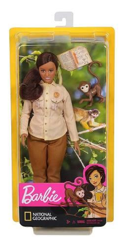 Barbie National Conservacionista Da Vida Selvagem Com Macaco