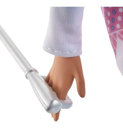 Boneca Barbie Made To Move Esquiadora Neve Articulada Rara