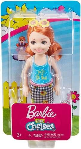 Boneca Filha Barbie Clube Chelsea Criança Ruiva Lançamento