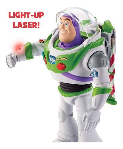 Boneco Buzz Lightyear Toy Story 4 Anda Fala Luzes Lançamento