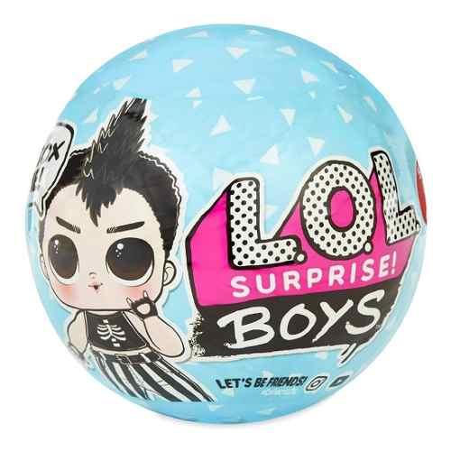 Boneco Lol Surprise Boys Original 7 Surpresas Meninos