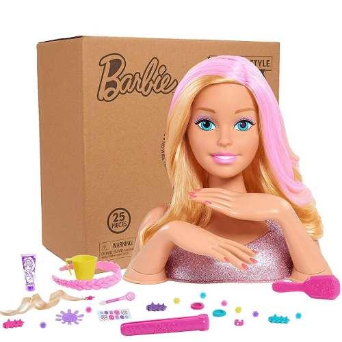 Cabeça Da Boneca Barbie Para Pentear E Fazer As Unhas 2019
