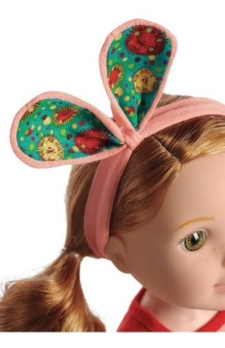 Boneca Reborn American Girl Wellie Wishers Willa Ruiva 37cm