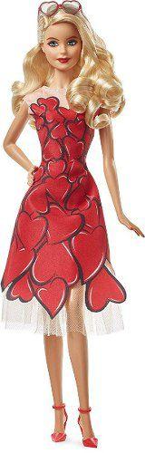 Boneca Barbie Signature Dia Dos Namordos Vestido De Corações