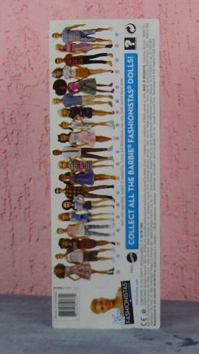 Boneco Ken Barbie Fashionista 11 Loiro Slim Óculos Raro