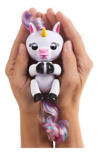 Agarradinho Fingerlings Bebê Unicornio Gigi Pet Interativo