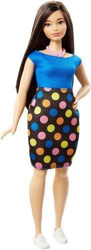 Boneca Barbie Fashionista 51 Polka Dot Fun Vestido Bolinhas