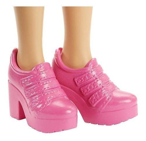 Boneca Barbie Fashionista 48 Daisy Top Franja Rosa Flores