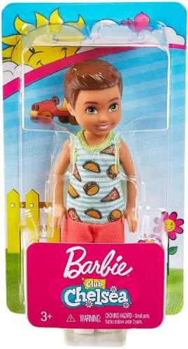 Boneco Ken Barbie Club Chelsea Criança Moreno Claro 2019